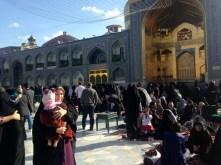 Eingang zum Schrein von Iman Reza in Maschhad