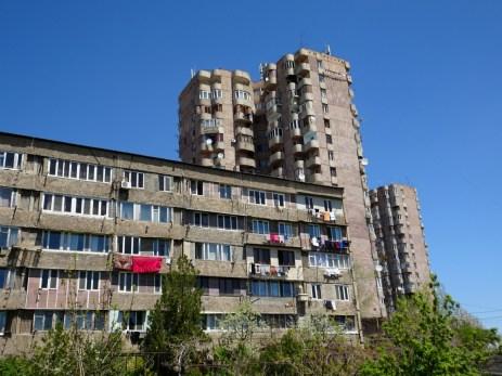 Jerewan - der russische Einfluss ist unverkennbar