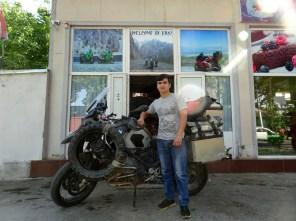 Bei den Moto Brothers in Dushanbe wurde mir professionell und schnell geholfen.