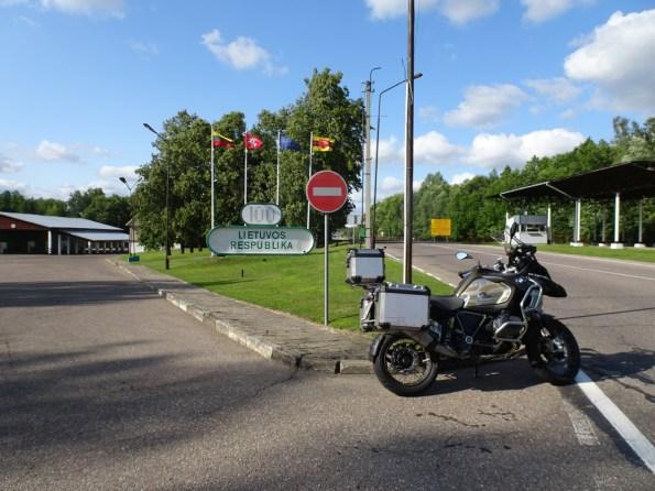 Grenze Polen - Litauen