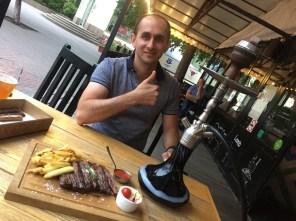 Mit Yanis zum Asado in Chelyabinsk