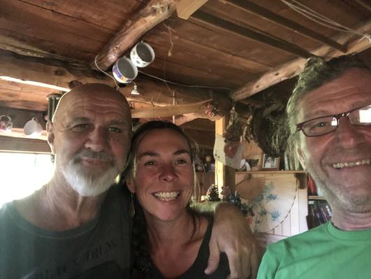 Mit Eva und Willi in El Bolson