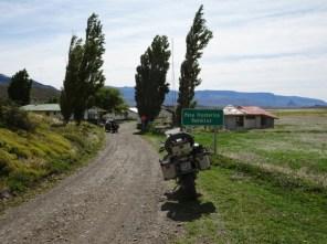 Grenzstelle am Paso Rodolfo Roballos