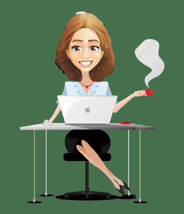Businesswoman Cartoon