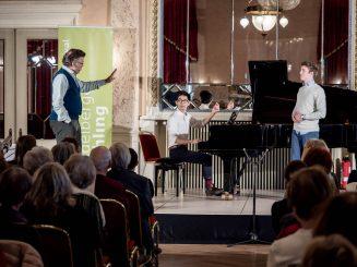 Thomas Hampson, Toni Ming Geiger & Johannes Maas (Tenor) Foto: © Heidelberger Frühling/studio visuell