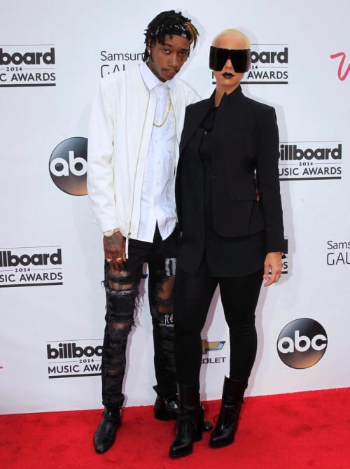 2014 Billboard Awards wiz-khalifa-amber-rose