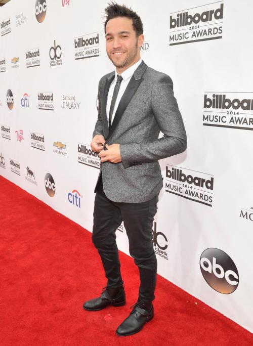 2014-billboard-music-awards-red-carpet-Pete Wentz of Fall Out Boy