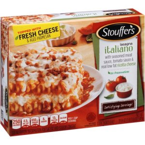 Stouffers Lasagna with Meat and Sauce