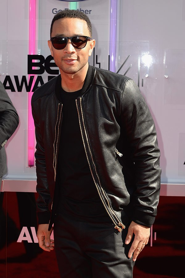 1 2014 bet red carpet john legend
