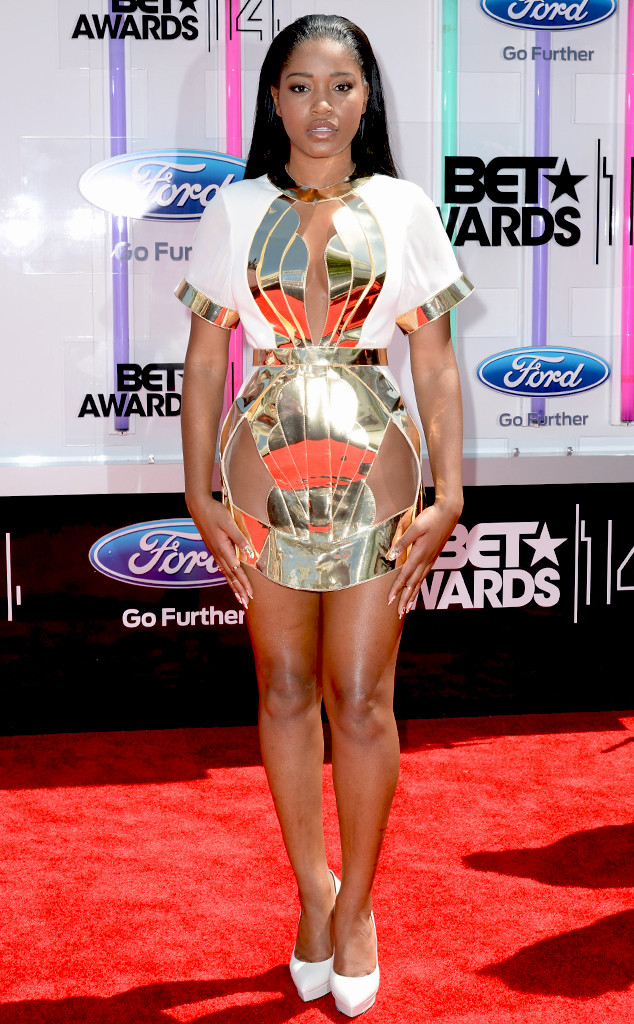 2014 bet red carpet keke palmer