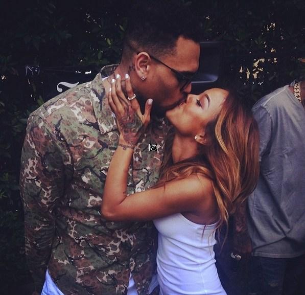 Chris Brown goes ham on Adrienne Bailon and Tamar Braxton