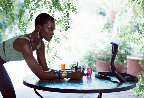 Lupita Nyong'o is FIERCE in Fashion Spread!. See AMAZING PHOTOS