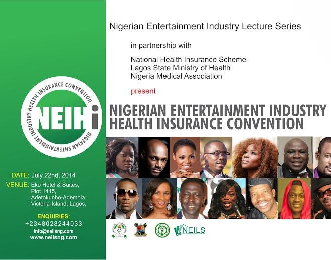 Nigerian Entertainment Industry to Hold First Health Insurance Convention