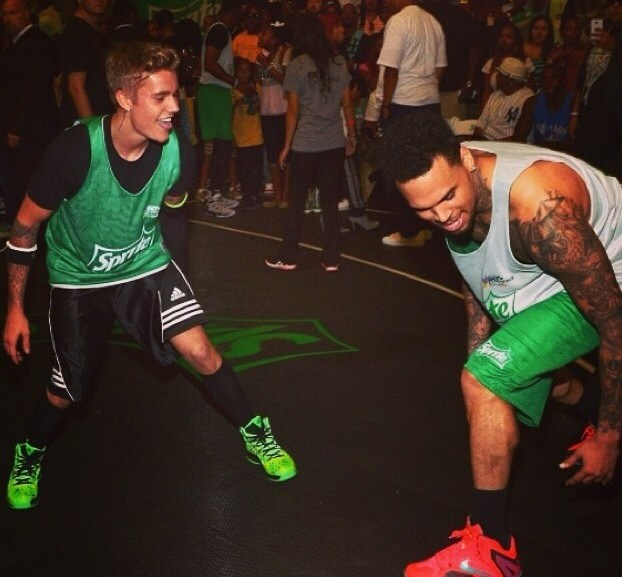 Pictures from 2014 BET Experience Celebrity Basketball Game