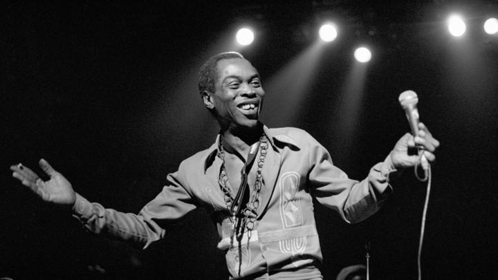 Fela Kuti 1988