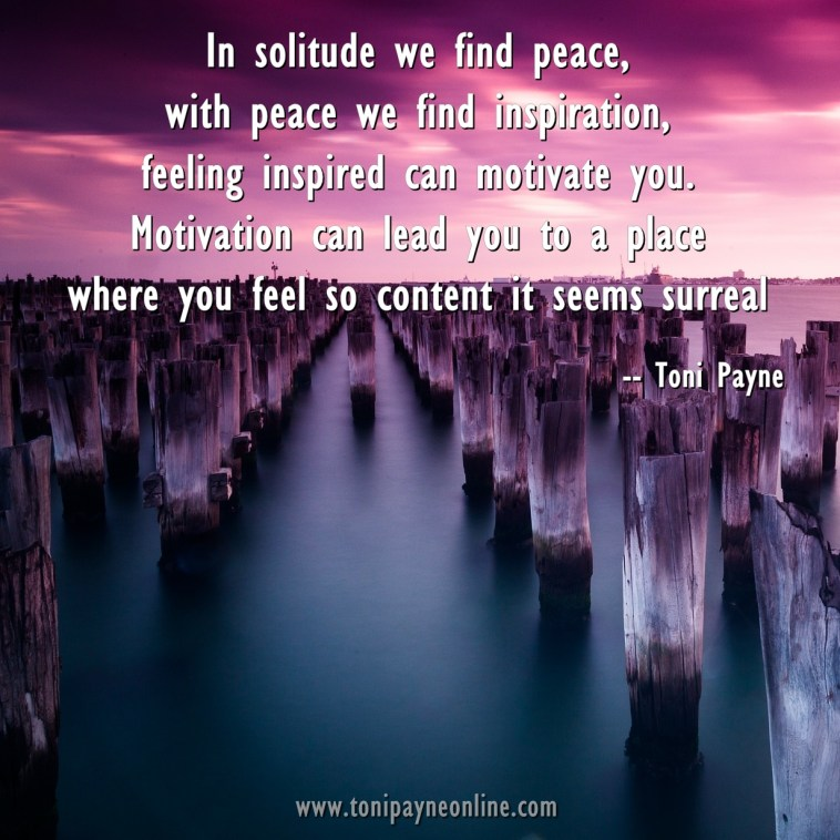 Quote about Peace Solitude Inspiration