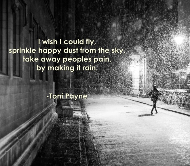 Inspirational Poetry: I Wish by Toni Payne