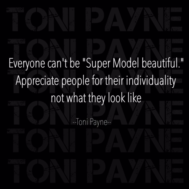 quote about beauty - everyone cant be super model