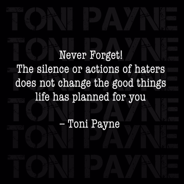 Quote About Being A Good Person Toni Payne Official Website