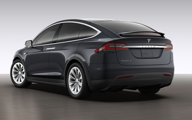 Tesla Model X 60D midnight silver
