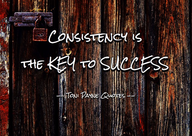 Quote about Success and Consistency