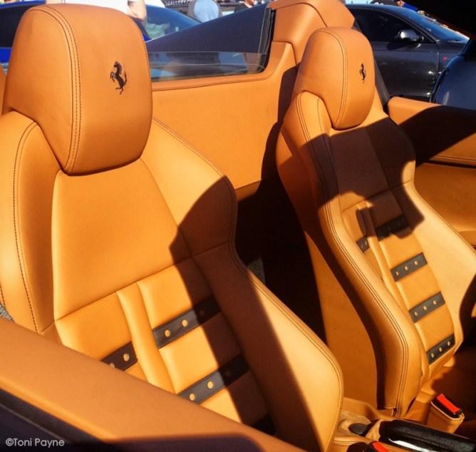 Mercedes SLS AMG, Ferrari 458 Spider  scs-ferrari-458-spider-interior-2grey-toni-payne