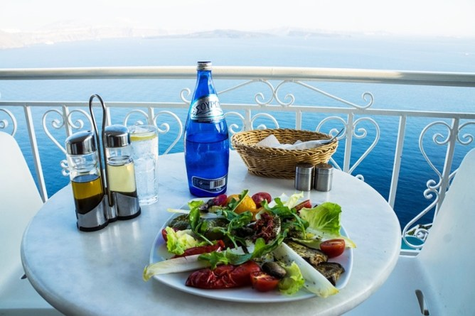 Santorini Greece Travel Guide - Toni Payne Travel Food