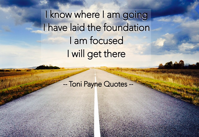 Quote about staying focused and laying a good foundation