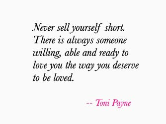 Quote about Getting the Love you Deserve