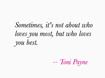 Quote about the Best Type of Love
