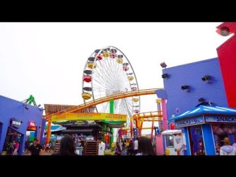 Travel Guide:  Things to do in Los Angeles   Santa Monica Pier
