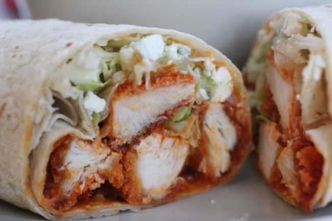 Buffalo Chicken Wrap Recipe