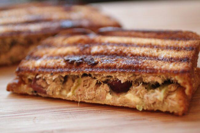 Mediterranean Tuna Panini Recipe