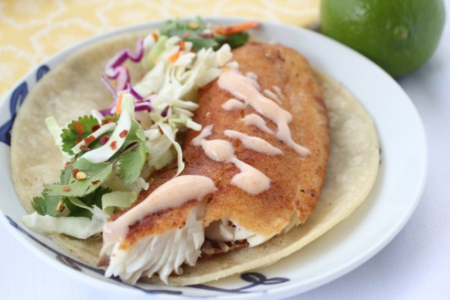 Baja Fish Tacos recipe from The Organized Cook