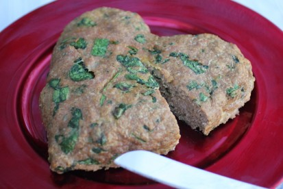 Turkey Spinach Meatloaf
