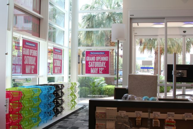 The Container Store at Town Square Grand Opening Blogger Event