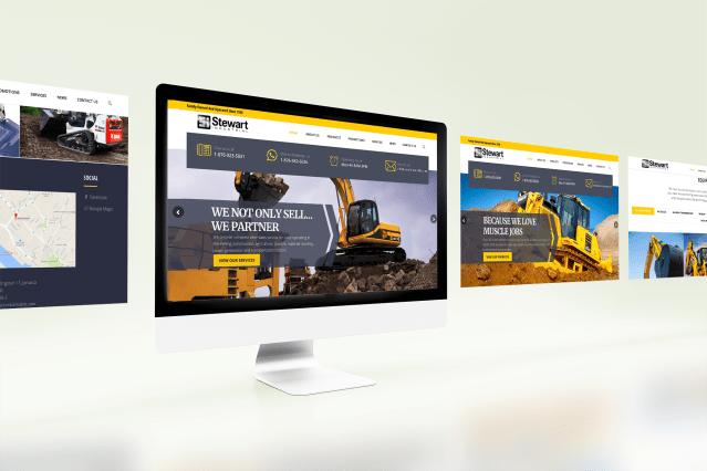 Website Design – Stewart Industrial