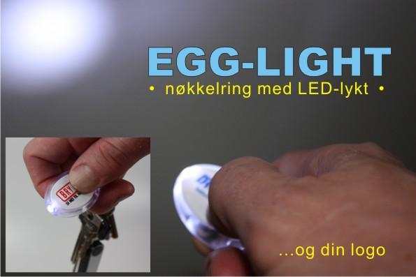 Mini LED-lykt med nøkkelring