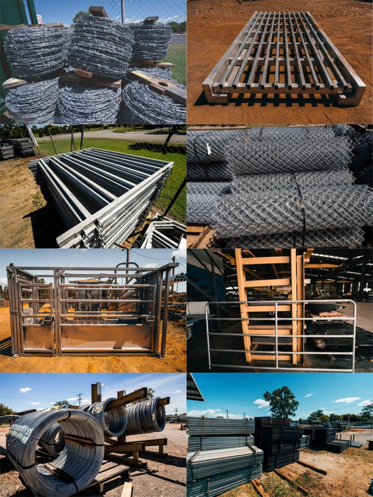 Steel products :cattle rails, loading ramps and star pickets specifically for farmers.