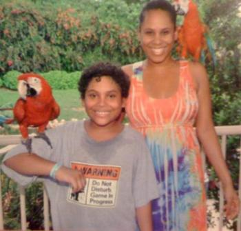 At Parrot Jungle