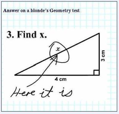 Тест за блондинки