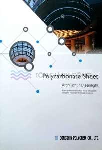 Catalog Trang 1 - CleanLight - Tấm Polycarbonate Lấy Sáng Đặc Ruột Hàn Quốc