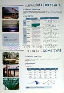 Catalog Trang 6 - CleanLight - Tấm Polycarbonate Lấy Sáng Đặc Ruột Hàn Quốc