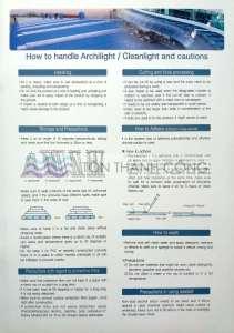 Catalog Trang 7 - CleanLight - Tấm Polycarbonate Lấy Sáng Đặc Ruột Hàn Quốc