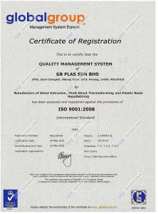 CR Certificate of Registration - QueenLite - Tấm Polycarbonate Lấy Sáng