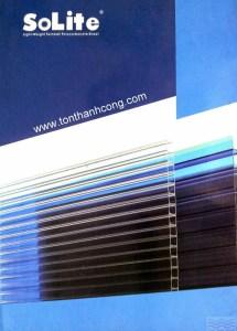 Catalog Trang 1 – SOLITE, Tấm Polycarbonate Rỗng Ruột Indonesia