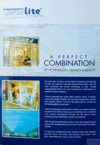 Catalog Trang 2 – TWINLITE, Tấm Polycarbonate Rỗng Ruột Indonesia