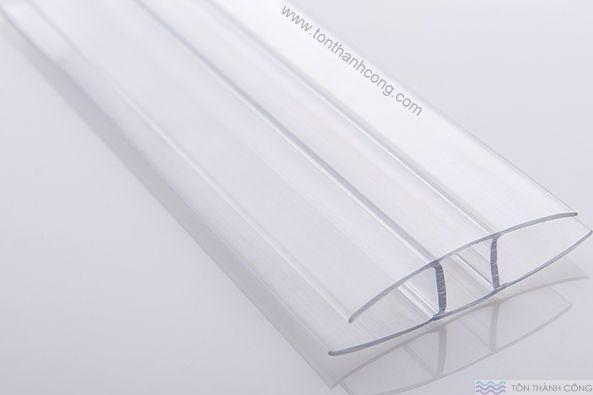 Nẹp nhựa H - Phụ kiện tấm lấy sáng polycarbonate