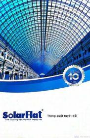 SolarFlat – Tấm lợp lấy sáng polycarbonate đặc ruột – Catalogue 1