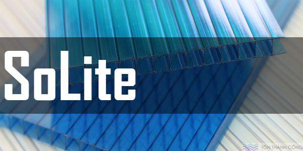 Tấm Polycarbonate SoLite - Tấm lợp lấy sáng rỗng ruột